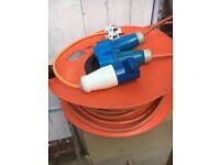 Motor home/caravan hook up cable