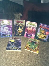 Set of 6 brand new unused goosebumps books