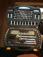 Mastercraft Large Socket Set