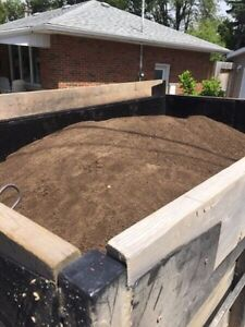 Topsoil and River rock for sale at discounted prices !