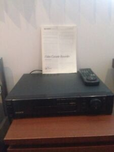SONY VIDEO CASSETTE RECORDER