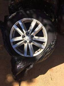 """4X GENUINE Mitsubishi ASX 17"""" WHEELS & TYRES - NEAR NEW! 90% TRD Castle Hill The Hills District Preview"""