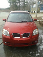 2007 Pontiac Wave SE Sedan - LOW KMS