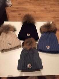 Moncler woolly hats - brand new 4 colours