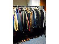 Huge Selection of Vintage, New, Designer Men's Clothing a