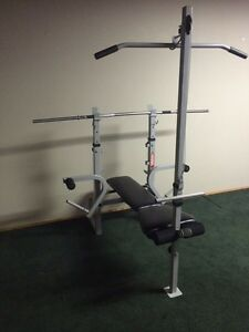 Workout bench Weider 137 with weight