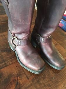 Leather boots for women size 8.5