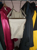 Brand New Hanging Laundry Basket in beige