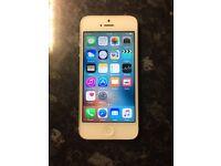 iPhone 5 16gb silver locked to orange