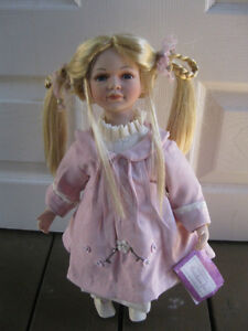 Collectible china doll Cambridge Kitchener Area image 1