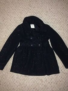 Black Dress Coat----size 8