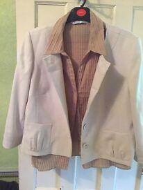 Gorgeous 3 piece plus size suit