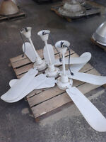 3 industrial ceiling fans!