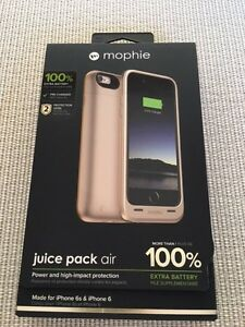 Neuf New Mophie juice pack air neuf garanti IPhone 6 & 6S West Island Greater Montréal image 1