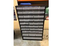 The Raaco C11-44 Metal Cabinet has 44 drawers x3
