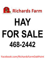 Hay for Sale SOLD OUT