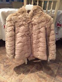 Girls Mink Fur Coat - Marks and Spencer 😊