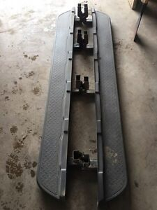 Factory Chevy Avalanche clad running boards