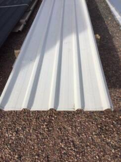 Roofing iron ideal for a container roof