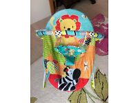 Bright Stars vibrating baby bouncer *brand new*