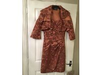 Sarah Danielle Designer BNWT Silk Mother of the Bride/Groom outfit