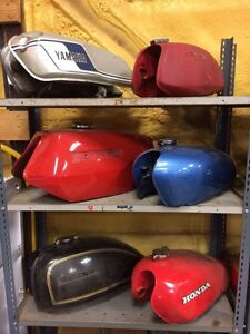 Motorcycle Gas Tank Collection