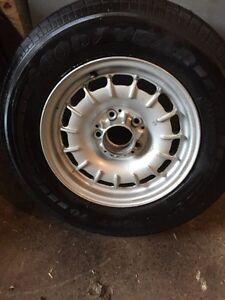 Genuine Mercedes Benz Fuchs alloy rim Bundt alloy Barock Wheel + Tyre Melbourne CBD Melbourne City Preview