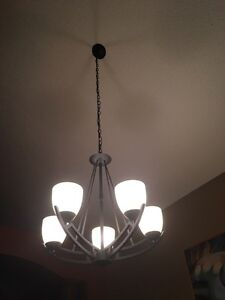 Dining room light fixture Strathcona County Edmonton Area image 1
