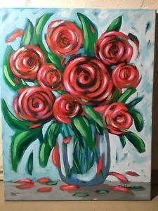 Abstract roses  Kingston Kingston Area image 1