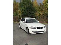 BMW 1 Series 2009, 3 Door, White