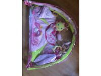 Baby girls bright stars playmat