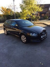 Audi A3 sports back, facelift, 2011 plate.