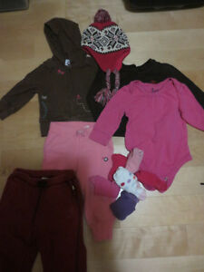 FULL SET OF TODDLER GIRL CLOTHES AS PICTURED GAP ETC