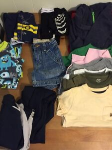 Brand name boys clothes for all seasons size 18-24