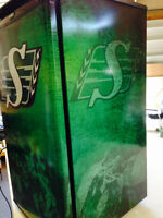 Custom wrapped RIDERS Fridge Brand New made to order!