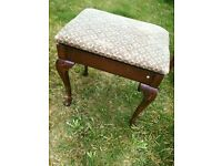Piano stool/dressing table stool for sale