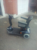 Selling a used invacare scooter leo model