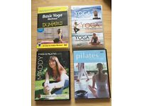 Yoga & Pilates DVD bundle