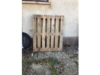 Wooden Pallet free to go