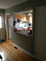 4 bedroom house(with other rooms for storage)St johns nl