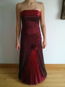 4 Piece Red Gown - Size S