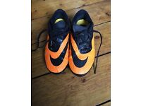 Children's football boots - good condition