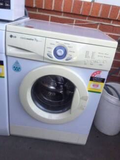 3.5 star great working 7 kg LG front washing machine , can delive