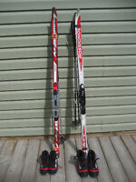 cross country skis & Shoes & Sticks