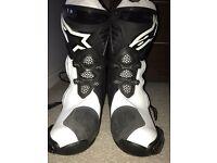 Alpinestars Supertech R Boots Size 9