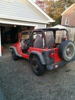 1997 Jeep TJ best offer takes it this week buying new