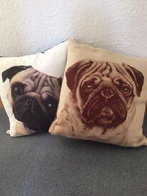 Pugs Dog Pillows