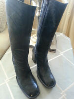 AUTHENTIC FRYE COWBOY EQUESTRIAN STYLE LADIES BOOTS 7.5