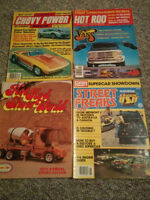 VINTAGE HOT RODDING & STREET POWER MAGAZINES