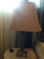 Beige Lamp For Sale